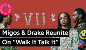 "Migos Reunite With Drake On Their New 'Culture II' Song ""Walk It Talk It"""