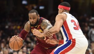 NBA : Cleveland et James coulent Detroit