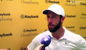 Maybank Championship (T1) : La réaction de Romain Wattel
