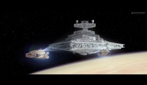La scène d'ouverture originale de Star Wars VII - The Force Awakens