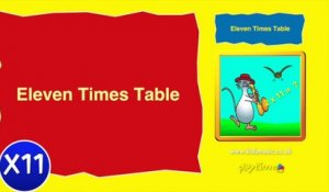 Kidzone - Eleven Times Table