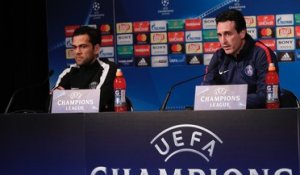 Replay : La conf de presse d'Unai Emery et Dani Alves avant Paris-Madrid