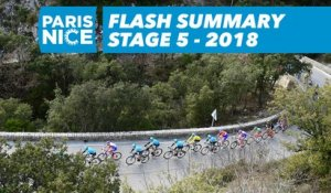 Flash Summary - Stage 5 - Paris-Nice 2018