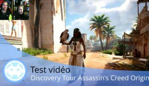Test vidéo - Assassin's Creed Origins - L'encyclopédie Discovery Tour nous instruit !