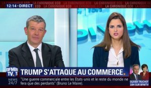 Donald Trump s'attaque au commerce