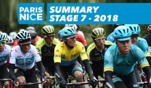 Summary - Stage 7 - Paris-Nice 2018