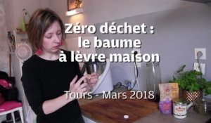 "VIDEO. Le ""zéro déchet"" made in Touraine : le baume à lèvre naturel"