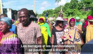 Mayotte: les manifestations continuent