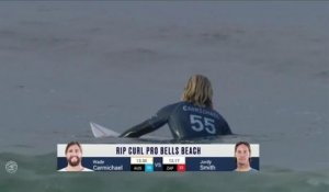 Adrénaline - Surf : Rip Curl Pro Bells Beach, Men's Championship Tour - Round 3 heat 1 - Heat Highlights