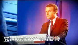L'interview événement d'Emmanuel Macron face à Jean-Jacques Bourdin et Edwy Plenel