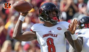 Why are the Bengals visiting with Lamar Jackson?