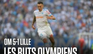 OM - Lille | Les 5 buts olympiens