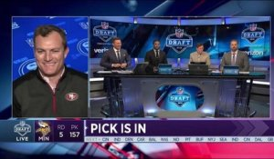 John Lynch shares his insight on the 49ers 2018 draft picks