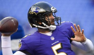 How worried should Joe Flacco be about losing the starting QB job to Lamar Jackson?