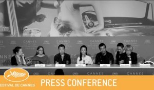 JIANG HU ER NV - CANNES 2018 - PRESS CONFERENCE - VF