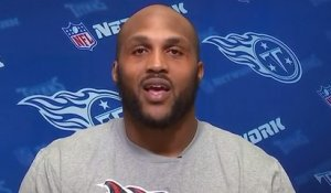 Jurrell Casey reacts to Blake Bortles preventing a crime