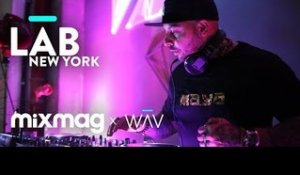 JOESKI in The Lab NYC with an all original set
