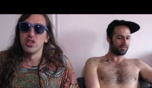 Crystal Fighters interview - Gilbert and Graham (part 2)