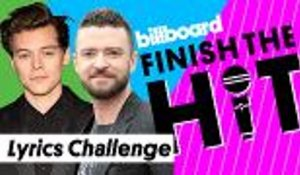 Finish The Hit: One Direction, BSB & *NSYNC - Boy Band Lyrics Challenge | Billboard