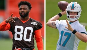 What do Jarvis Landry's comments say about Ryan Tannehill?