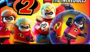 LEGO The Incredibles Walkthrough Part 2 (PS4, Switch, XB1) No Commentary Co-op