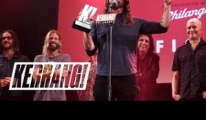 FOO FIGHTERS dedicate Kerrang! Award to CHESTER BENNINGTON