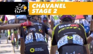 Chavanel - Étape 2 / Stage 2 - Tour de France 2018