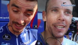 Tour de France 2018 - Julian Alaphilippe - Philippe Gilbert chez Quick-Step, l'autre match France-Belgique