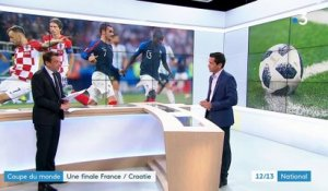 Coupe du monde : une finale France-Croatie