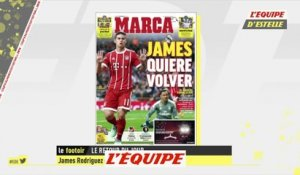 James Rodriguez envisagerait un retour - Foot - ESP - Real Madrid