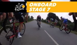 Onboard camera - Sequence of the day - Étape 7 / Stage 7 - Tour de France 2018