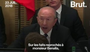 Affaire Benalla : l'audition de Gérard Collomb à l'assemblée en 2mn