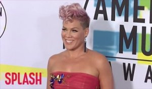 Pink discharged from hospital