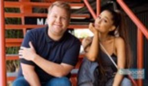 Ariana Grande Gets Hurt While Filming 'Carpool Karaoke' | Billboard News