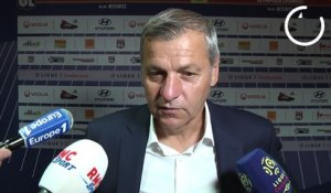 OL : la réaction de Bruno Genesio