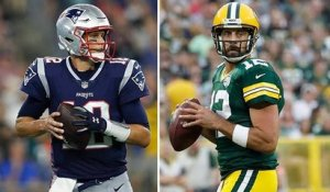 Who's more likely to throw for 30 TDs: Brady or Rodgers?