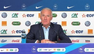 Ligue des nations: Deschamps rappelle les champions du monde