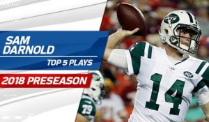 Top 5 Sam Darnold plays | 2018 Preseason
