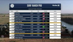 Adrénaline - Surf : Keely Andrew with a 6.17 Wave from Surf Ranch Pro, Women's Championship Tour - Qualifying Round