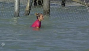 Adrénaline - Surf : Coco Ho with a 6.77 Wave from Surf Ranch Pro, Women's Championship Tour - Qualifying Round