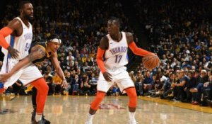 GAME RECAP: Thunder 123, Warriors 95