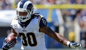 Todd Gurley scores second rushing TD of game