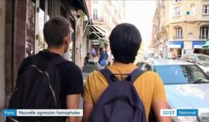 Paris : nouvelle agression homophobe