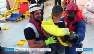 "Migrants : l'""Aquarius"" va-t-il accoster en France ?"