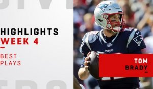 Tom Brady's best plays against the Dolphins | Week 4