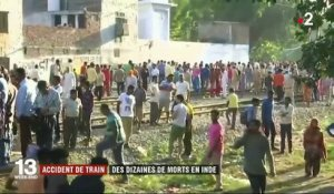 Inde : un accident de train cause la mort de dizaines de personnes