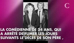 PHOTO. Laura Smet fait une belle déclaration d'amour à ses parents, Johnny Hallyday et Nathalie Baye