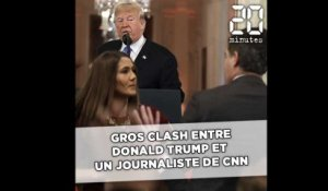 Gros clash entre Trump et un journaliste de CNN