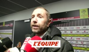 Desplat «On a vu le vrai Guingamp» - Foot - L1