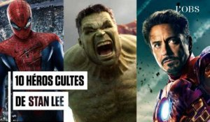 Spider-Man, Hulk, Iron Man... 10 héros cultes de Stan Lee